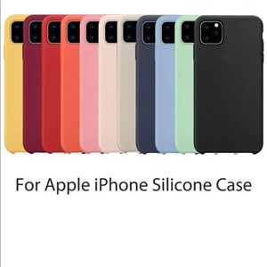 Case For iPhone 11, Pro & Pro Max Silicone Cover